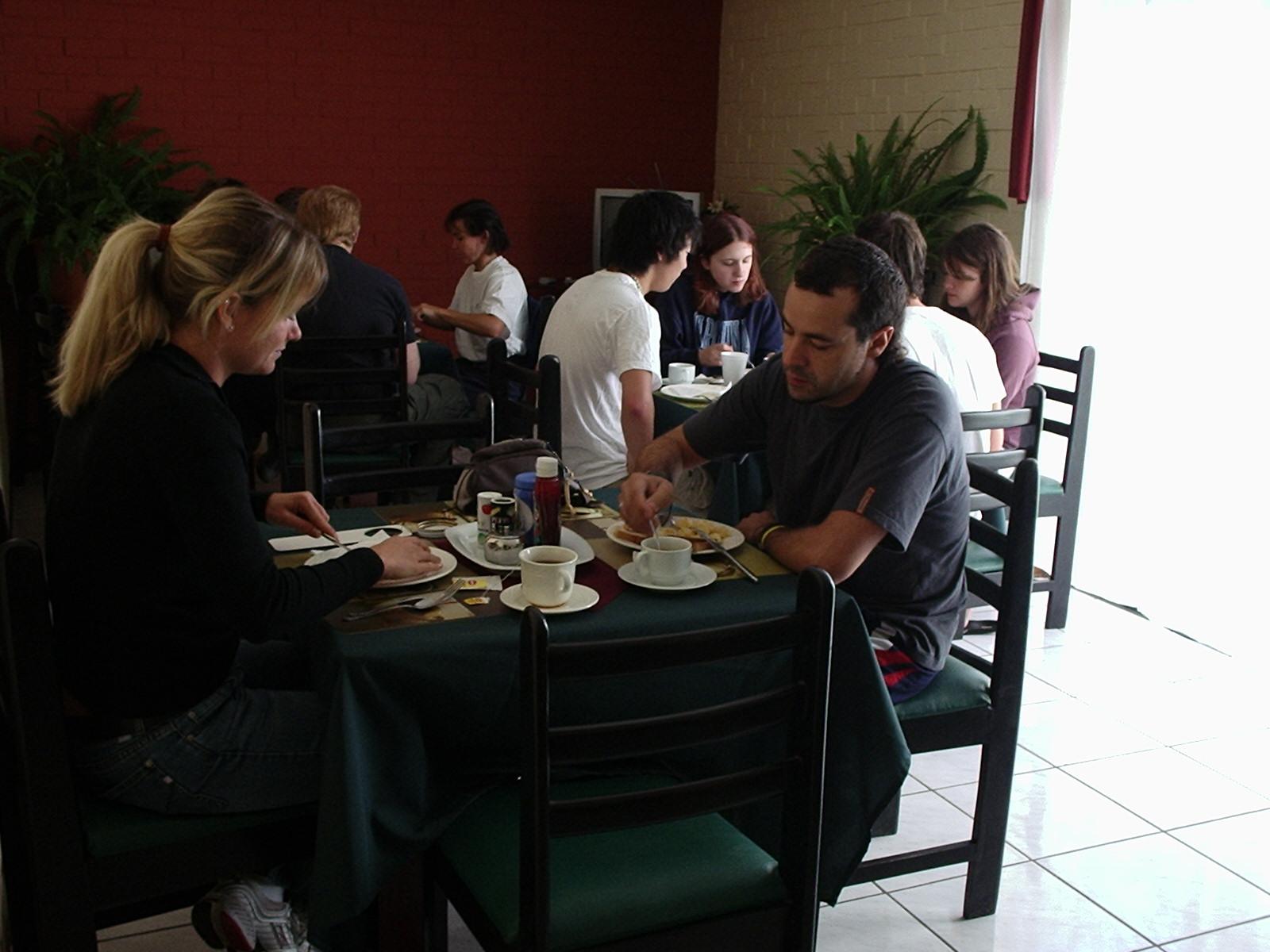 Dining at Dos Lunas