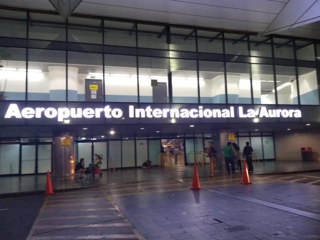 Resultado de imagen de la aurora guatemala airport